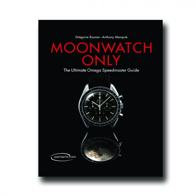 libro orologi moonwatch only