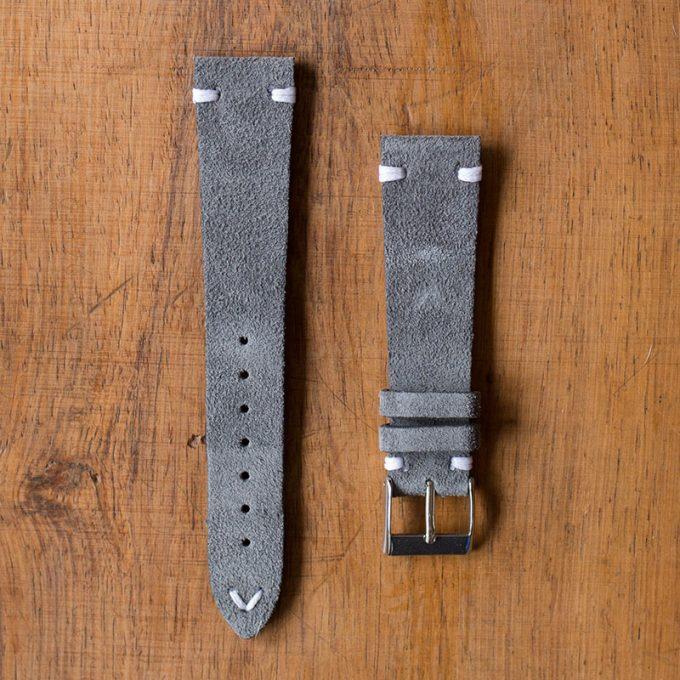 Cinturino Vintage Scamosciato M1 Grigio Scuro