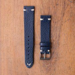 Cinturino Vintage Cervo M1 Blu Filo Beige