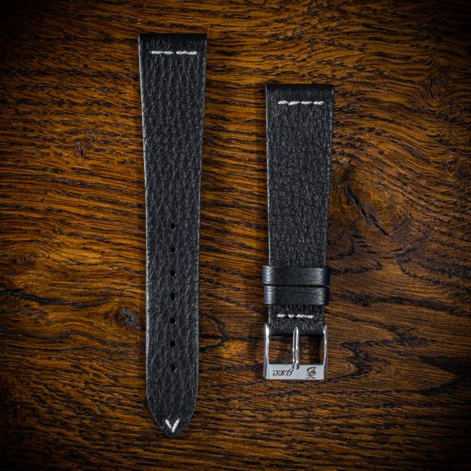 cinturino-cervo-nero-m4-filo-bianco (1)
